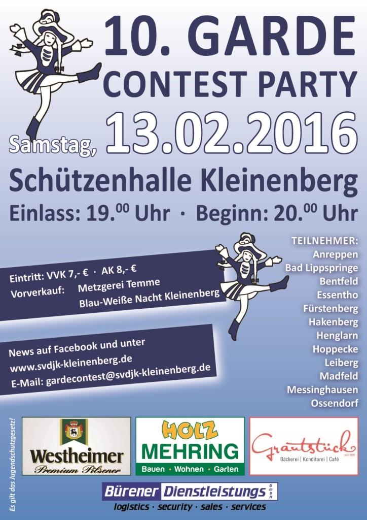 Plakat DinA2_Gardecontest 2016_klein